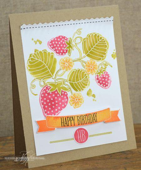 Berry Birthday Card