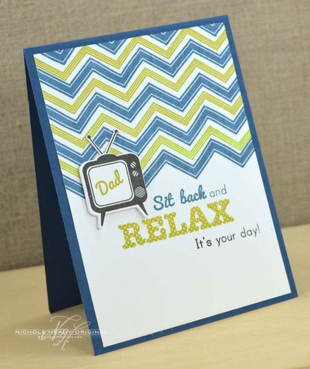 Relax Dad Card