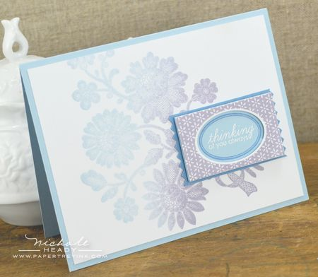 Lace Flowers card