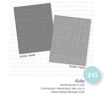 Aida-impression-plate