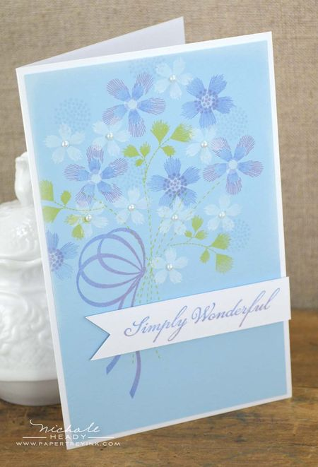 Simply Wonderful Card