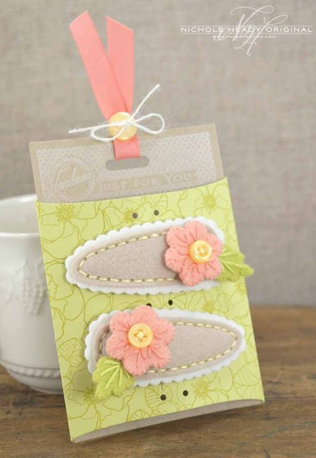 Barrette Accessory Card