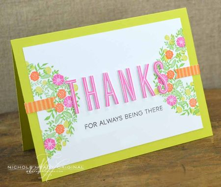 Bright & Bold Thanks Card