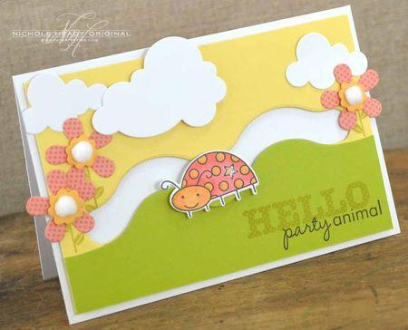 Hello Party Animal Card