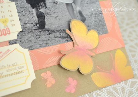Cut butterfly