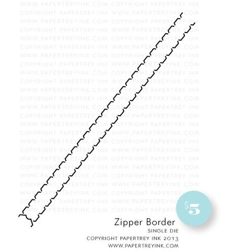 Zipper-Border-die