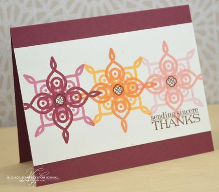 Sincere Thanks Card