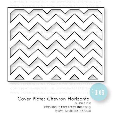 Cover-Plate-Chevron-Horizontal-die