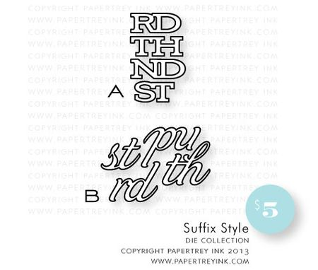 Suffix-style-dies