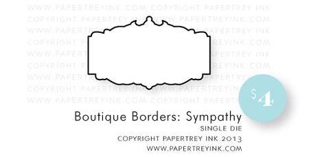 Boutique-Borders-Sympathy-die