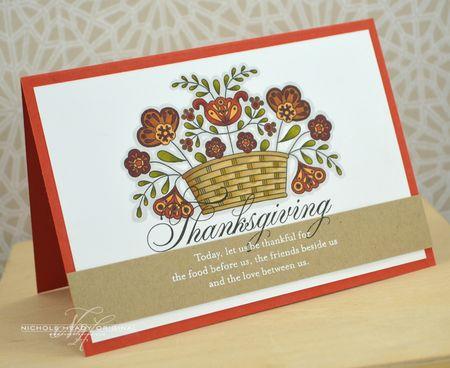Folk Thanksgiving Card