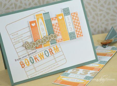 Bookworm Card & Bookmark