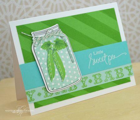 Little Sweet Pea Card