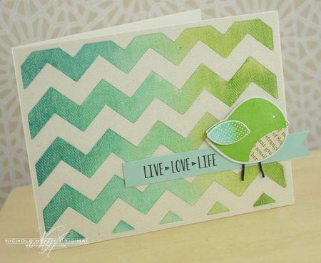 Live Love Life Card
