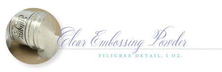 Embossing-powder