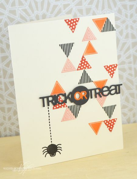Trick or Treat Triangles Card