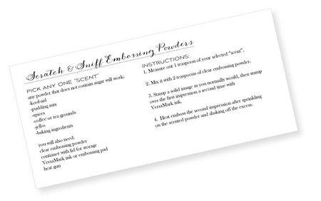 Scratch-&-Sniff-Recipe-Card
