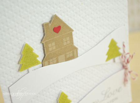 House & impression plate