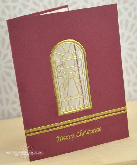 Gilded Window Card