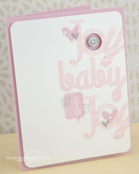 Baby Joy card