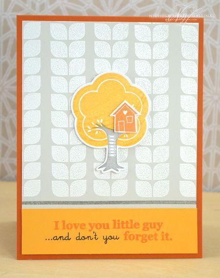 Love You Little Guy Card