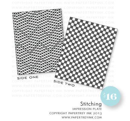 Stitching-impression-plate