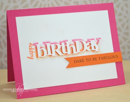 Dare to Be Fabulous Card
