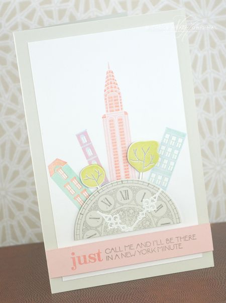 New York Minute Card
