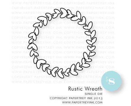 Rustic-Wreath-die