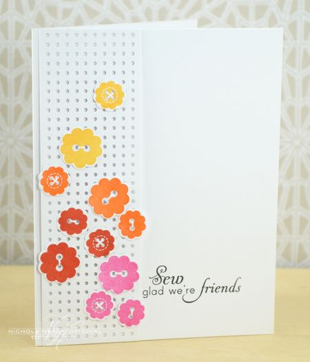 Sew Glad We're Friends Card