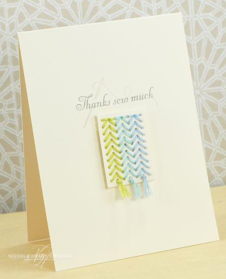 Thanks Sew Much Card