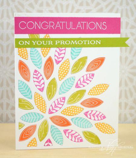 Floral Promotion Card
