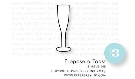 Propose-a-Toast-die