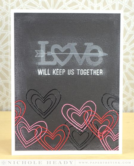 Chalkboard Love Card