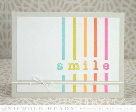 Rainbow Smile Card