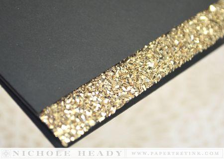 Glitter edge