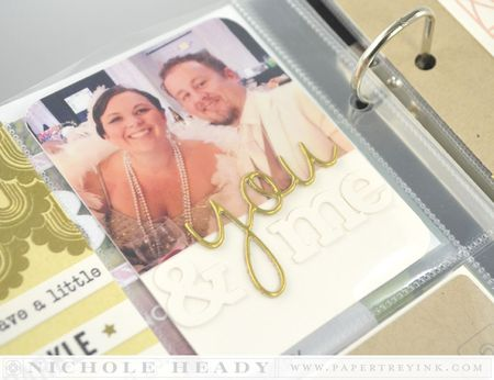 You & me journal card