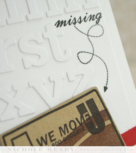 Missing arrow