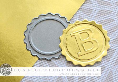 Luxe Letterpress seal die