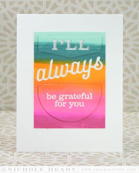 I'll Always Be Grateful Card
