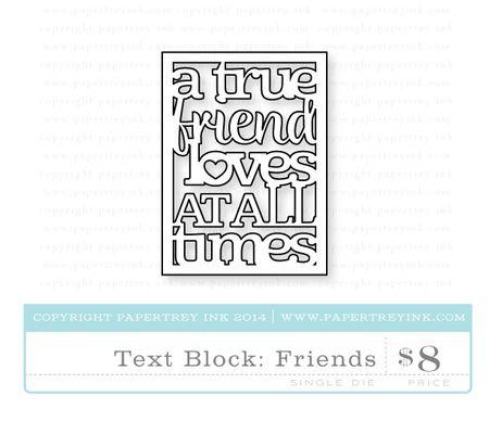 Text-Block-Friends-die