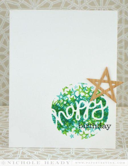 Happy Birthday Star Card