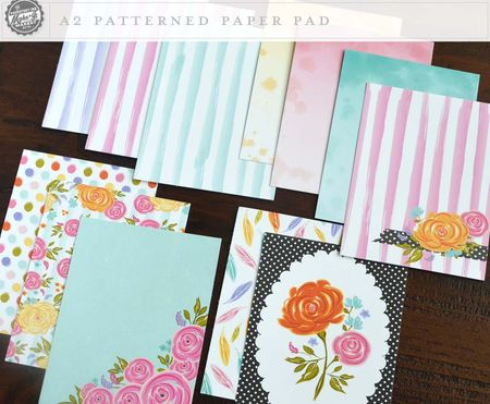Patterned paper pad