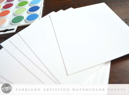 Watercolor Sheets