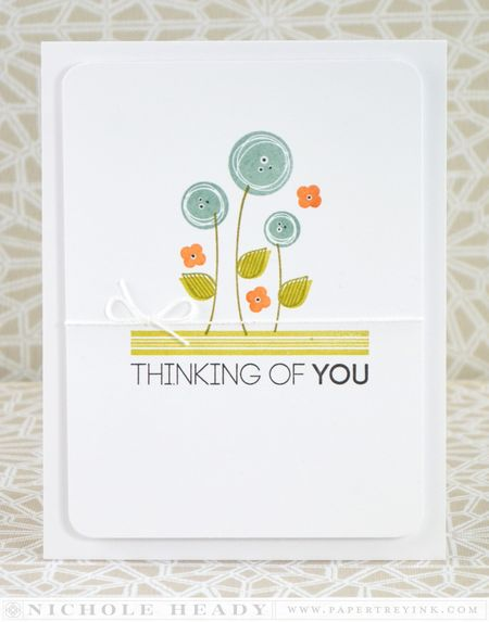 Modern Florals Card