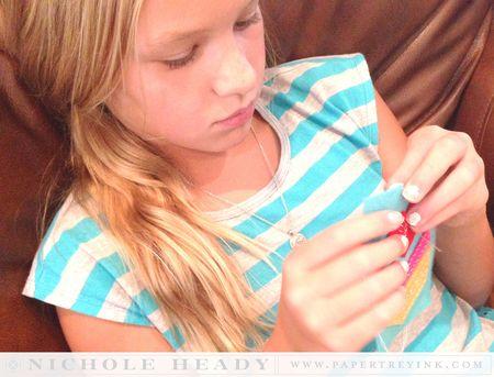 Hannah stitching