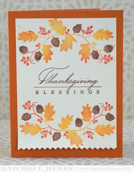 Thanksgiving Blessings Card