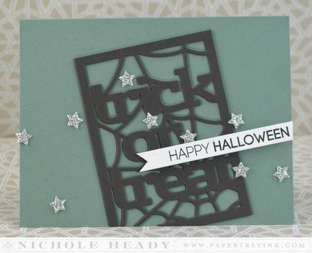 Trick Or Treat Stars Card