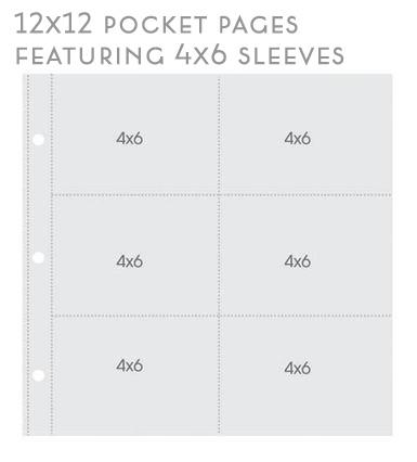 12x12 design 2 pocket pages