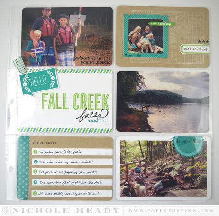 Fall Creek Falls layout